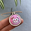 Thumbnail: Bespoke embroidery necklace 3cmx3.5cm