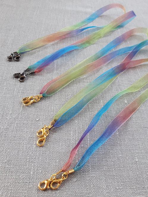 Rainbow Mask holding strap