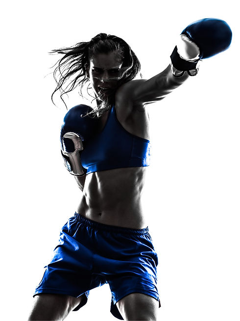 woman-boxer-boxing-kickboxing-silhouette