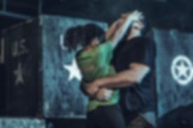 Young-girl-using-Krav-Maga-fighting-self