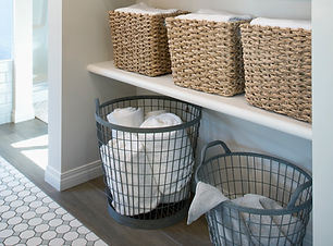 Bathroom Organization,  Shelves, Jenny Dietsch, professional organizing, Dallas, Texas