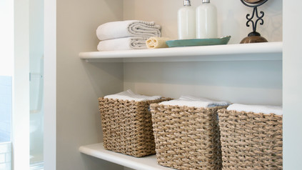 organized with as much styling as you need