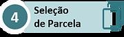 Inscrição em DA - 04 Seleção de Parcela.