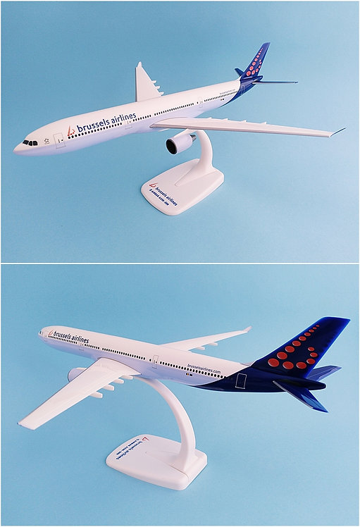 Brussels Airlines Scale 1-200 model Airbus A330-300 #02
