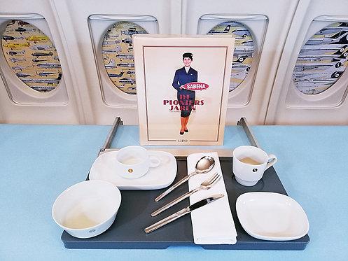 Sabena China ware 1950-1970 Set 3
