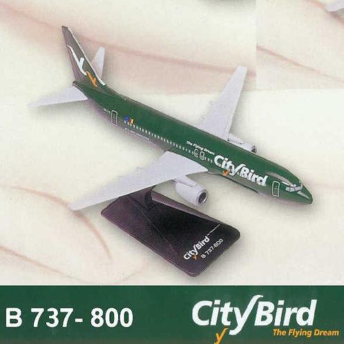 City Bird - The Flying Dream Scale 1-200 model Boeing B737-800 Next Generation