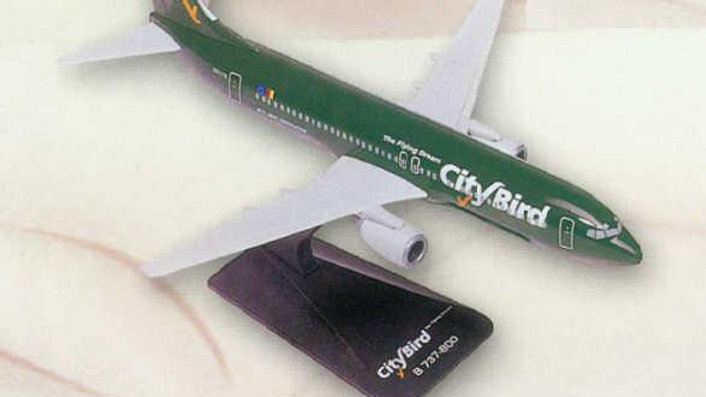 City Bird - The Flying Dream Scale 1-200 model Boeing B737-800 Next Generation