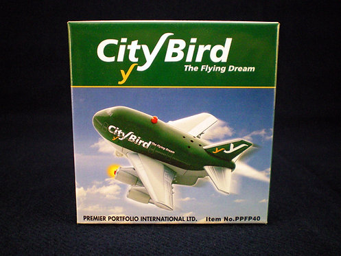 City Bird - The Flying Dream Toy Fun Plane with batteries
