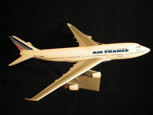 Air France Scale 1-200 model Boeing B747-400 F-GITE