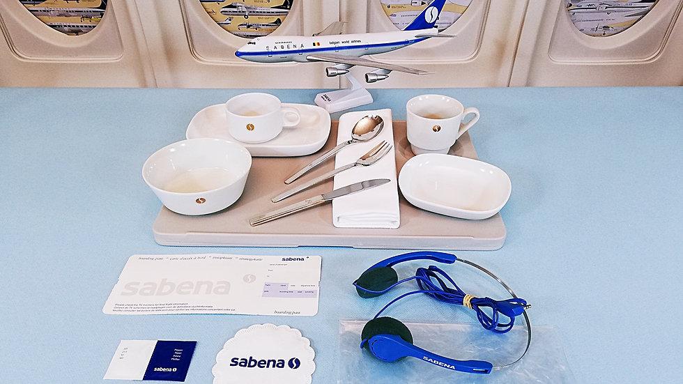 Sabena China ware 1950-1970 Set 8