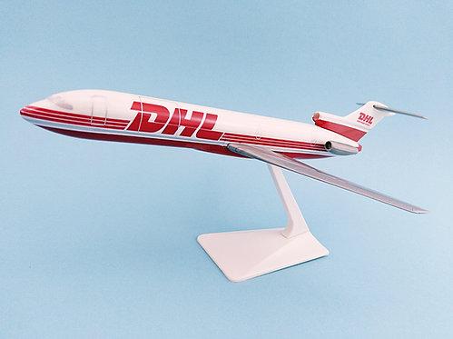 DHL Worldwide Express Scale 1-200 model Boeing B727-200F