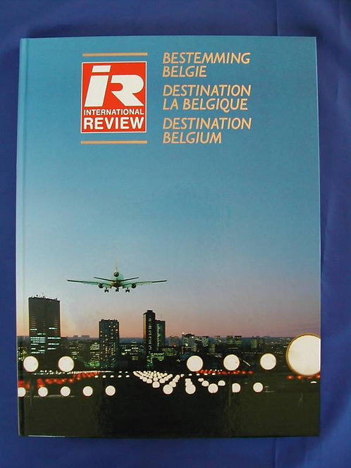 Sabena Book International Review Destination Belgium 1980s