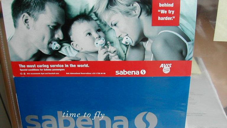 Sabena Ticket Holder Baby #01