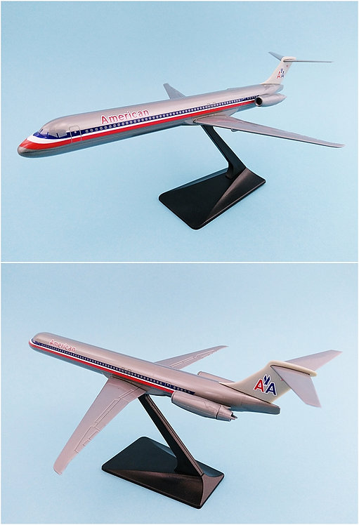 American Airlines Scale 1-200 model McDonnell Douglas MD-83
