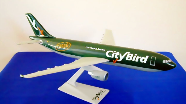 City Bird - The Flying Dream Scale 1-200 model Airbus A300C4-605R Cargo OO-CTT