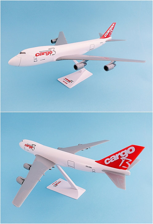 Cargo B Airlines Scale 1-250 model Boeing B747-200F(SCD) #01 OO-CBA