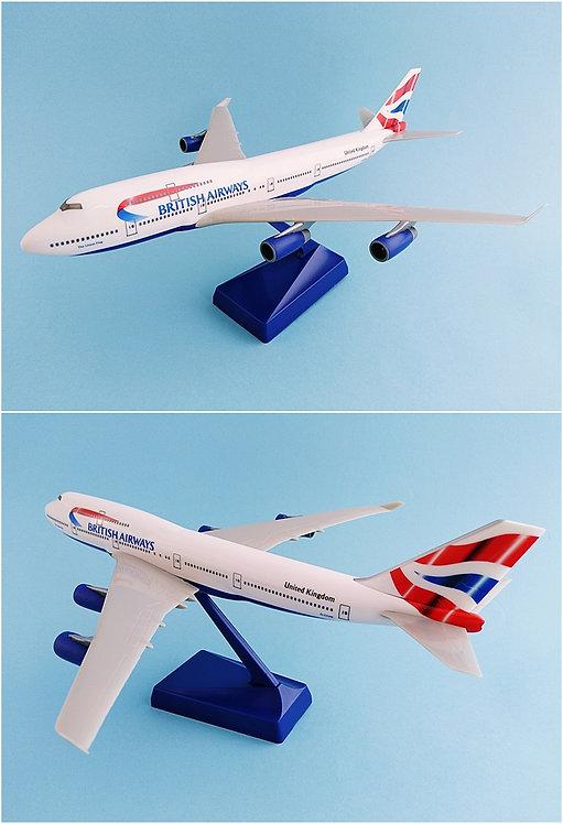 British Airways Scale 1-250 model Boeing B747-400 #01 G-CIVM The Union Flag