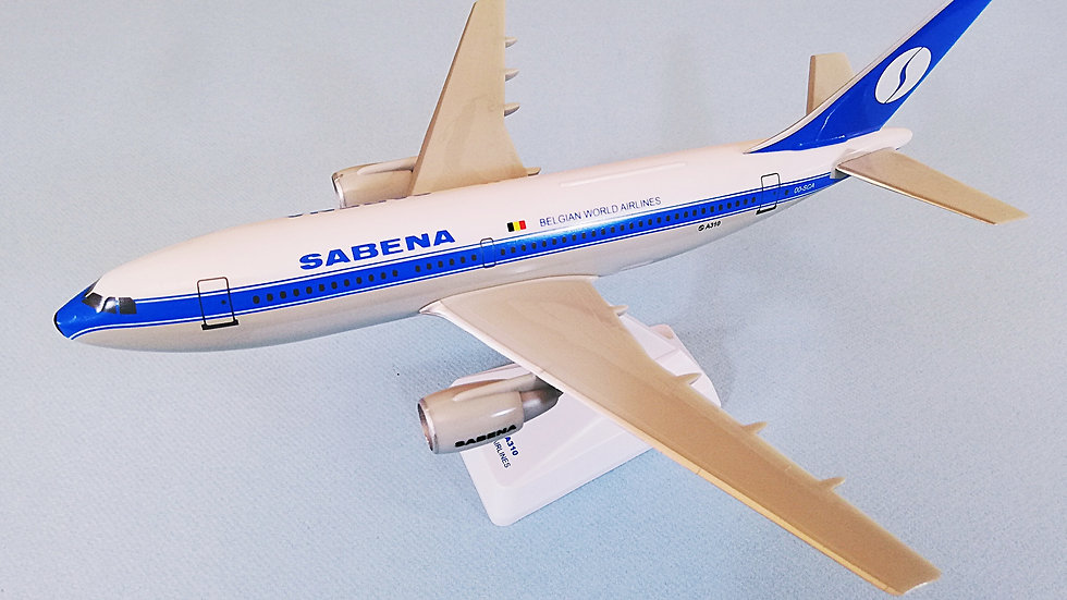 Sabena Scale 1-200 modelAirbus A310 BWA Colors OO-SCA