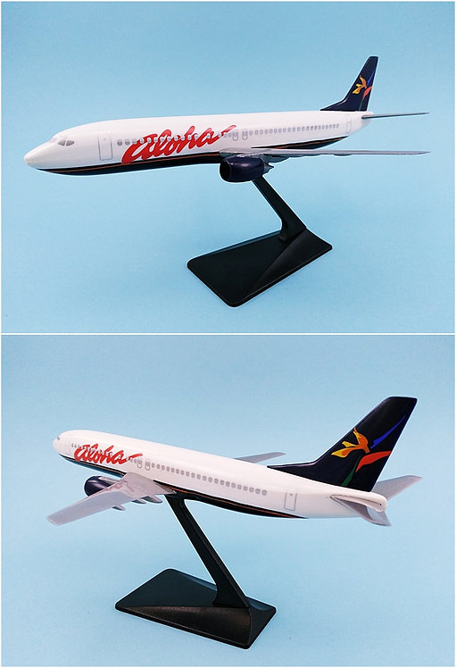 Aloha Airlines Scale 1-200 model Boeing B737-400 #01