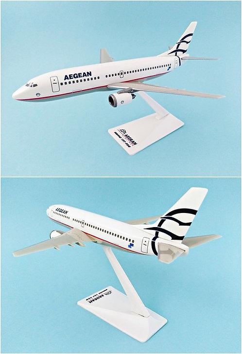 Aegean Airlines Scale 1-180 model  Boeing B737-300