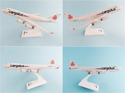 Cargolux Airlines International Scale 1-250 model Boeing B747-400F
