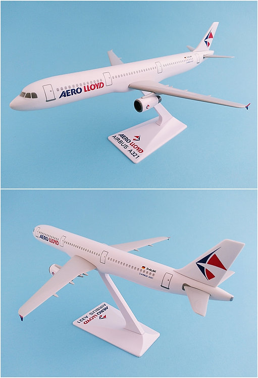 Aero Lloyd Scale 1-200 model Airbus A321-200 D-ALAK