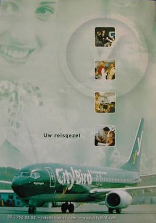 City Bird - The Flying Dream Ad