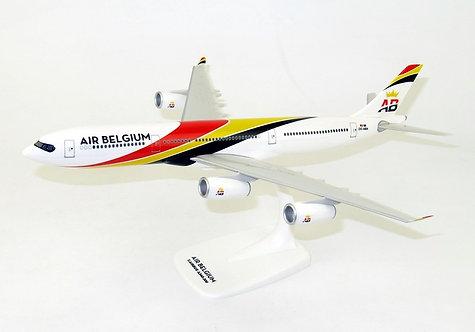 Air Belgium Scale 1-200 model Airbus A340-300 OO-ABA