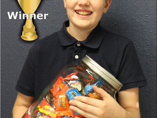 Winner of the 1st Happy Harvest Candy Giveaway!