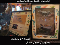 Jimmy Thompson - Original Art - Framed Art Feathers & Flowers.jpg