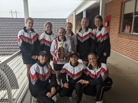 Broughton Anglican College West Zone Champions - 2021