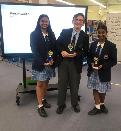 Year 10 Public Speaking Award Winners 2019