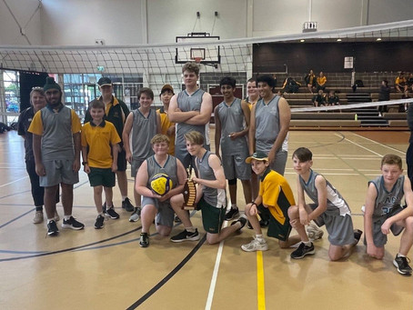 Mount Annan Christian College - West Zone Volleyball Champions - 2021
