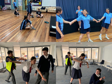 Drama PIP Day via zoom with ATYP (Australian Theatre for Young People)