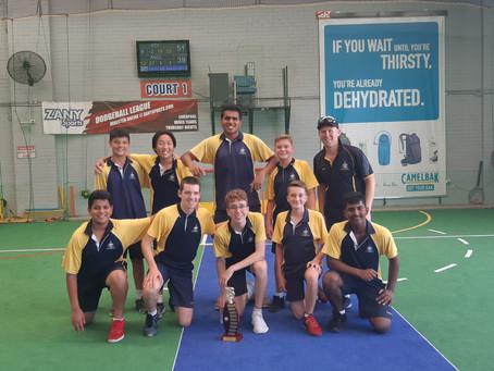 Clancy Catholic College 7-9 Boys North Zone Indoor Cricket Champions 2020