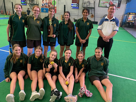 Macarthur Anglican School West Zone and Interzone Indoor Cricket Champions 2021