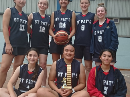 St. Patrick's College  7-9 Girls Basketball East Zone and Interzone Champions 2021