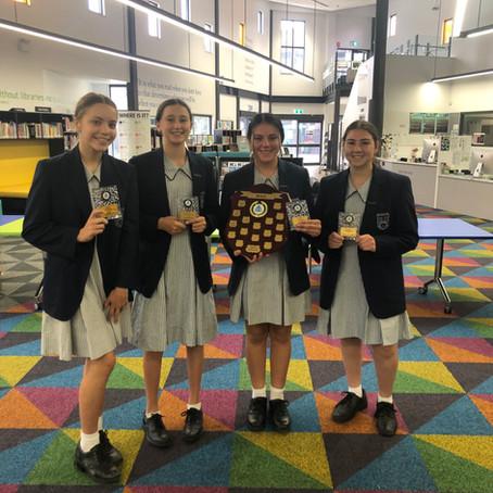Year 8 Debating Champions 2020 - Magdalene Catholic College