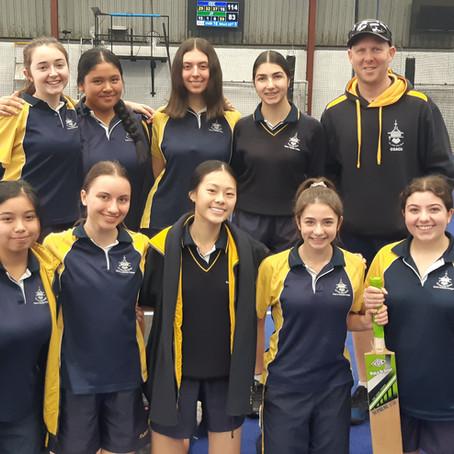 Clancy Catholic College 10-12 Girls Indoor Cricket North Zone Champions 2021