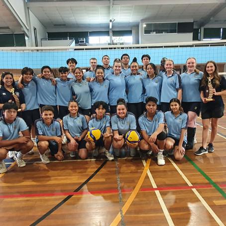 Mount Carmel Catholic College 9-10 Boys & Girls East Zone Volleyball Champions 2020