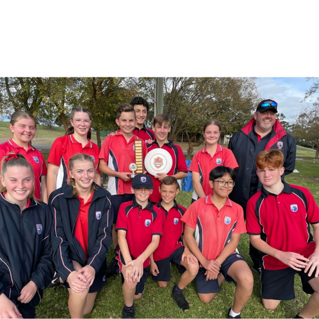 Oran Park Anglican College - West Zone and Interzone Champions  Years 7-9 Mixed Frisbee 2021