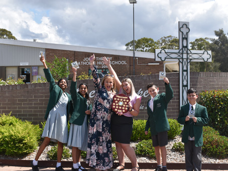 Year 7 Debating Champions - John Therry Catholic College 2020