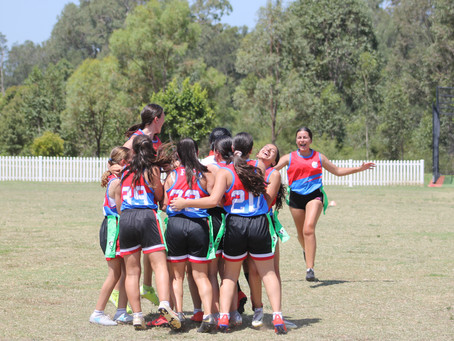 Freeman Catholic College 7-9 Girls North Zone Oz Tag Champions 2020