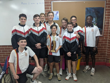 Broughton Anglican College West Zone and Interzone Champions - 2021
