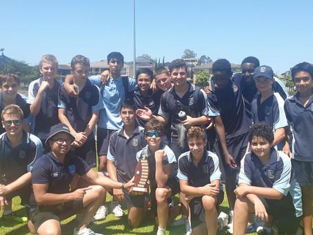 All Saints Catholic College 7-9 Boys AFL North Zone Champions 2020
