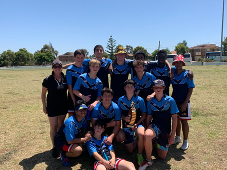 All Saints Catholic College 7-9 Boys Oz Tag North Zone Champions 2020