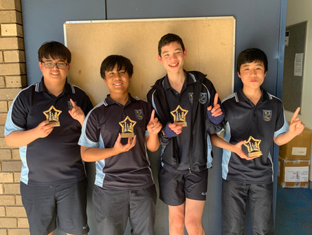 Junior Chess Champions 2020 - All Saints Catholic College