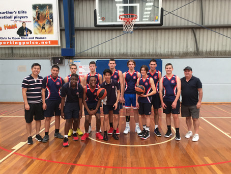 Thomas Hassall Anglican College 10-12 Boys North Zone Champions 2021