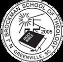 N. J. Brockman School of Theology Logo