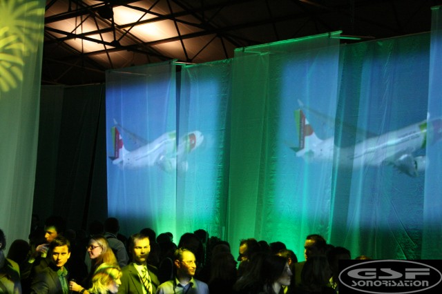 BTExpo | projection on fabric